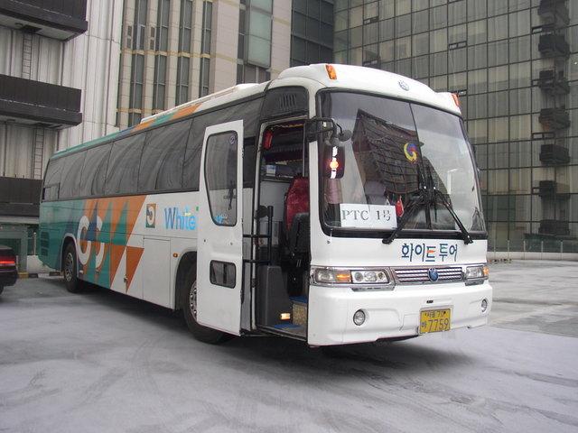a. 板門店ツアーバス