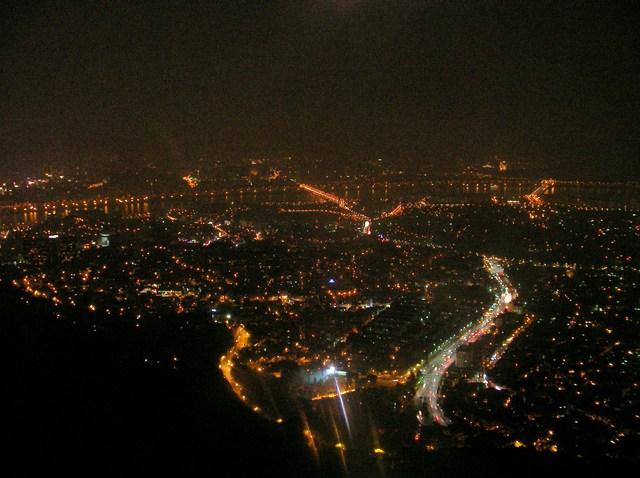 4  タワーから見た夜景(2)